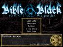 main menu, title