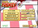 Pizza Frenzy Menu