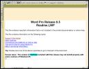 Lotus WordPro 9.5
