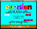 Eversion Game Menu