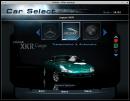 Car selection menu
