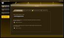 settings screen