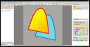 Two vector layers