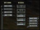 VISUALS menu