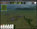 In-game battle map